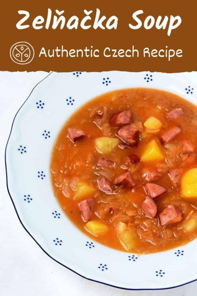 zelňačka sauerkraut soup